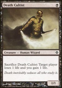 Death Cultist - Rise of the Eldrazi