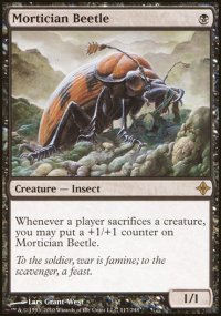 Mortician Beetle - Rise of the Eldrazi