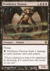 Pestilence Demon - Rise of the Eldrazi