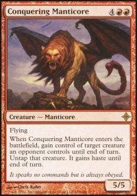Conquering Manticore - Rise of the Eldrazi