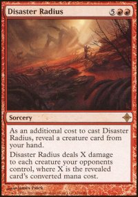 Disaster Radius - Rise of the Eldrazi
