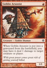 Goblin Arsonist - Rise of the Eldrazi