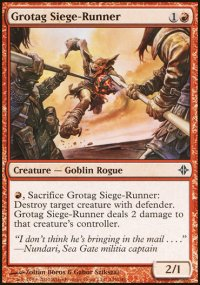 Grotag Siege-Runner - Rise of the Eldrazi
