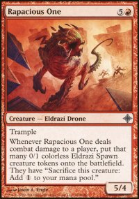 Rapacious One - Rise of the Eldrazi