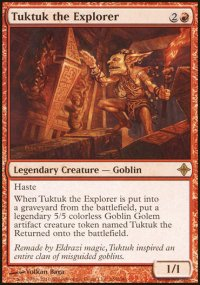 Tuktuk the Explorer - Rise of the Eldrazi