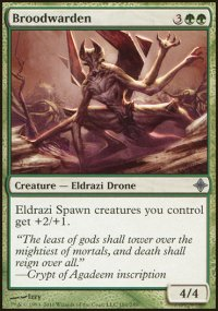 Broodwarden - Rise of the Eldrazi