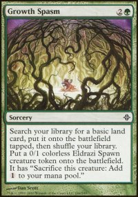 Growth Spasm - Rise of the Eldrazi