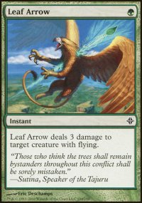 Leaf Arrow - Rise of the Eldrazi