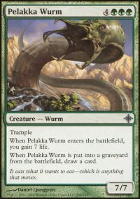 Pelakka Wurm - Rise of the Eldrazi