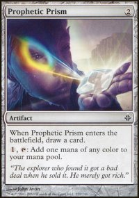 Prophetic Prism - Rise of the Eldrazi