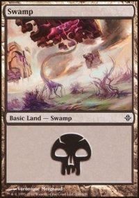 Swamp 4 - Rise of the Eldrazi