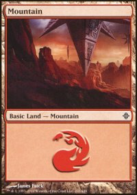 Mountain 1 - Rise of the Eldrazi