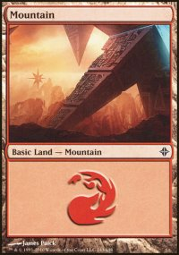Mountain 3 - Rise of the Eldrazi
