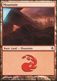 Mountain 4 - Rise of the Eldrazi