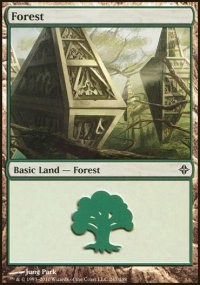 Forest 3 - Rise of the Eldrazi