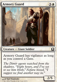 Armory Guard - Return to Ravnica