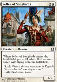Seller of Songbirds - Return to Ravnica