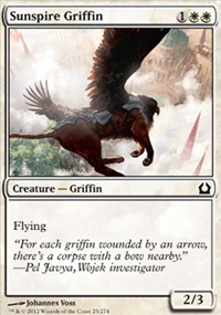 Sunspire Griffin - Return to Ravnica