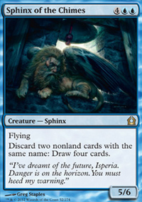 Sphinx of the Chimes - Return to Ravnica