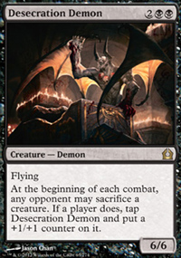 Desecration Demon - Return to Ravnica