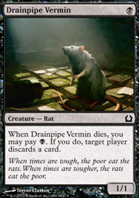 Drainpipe Vermin - Return to Ravnica