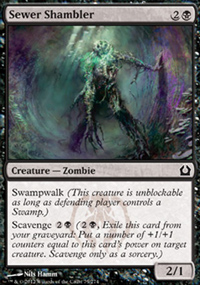 Sewer Shambler - Return to Ravnica