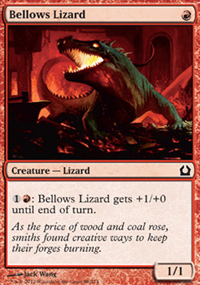 Bellows Lizard - Return to Ravnica