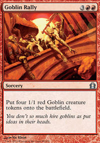 Goblin Rally - Return to Ravnica