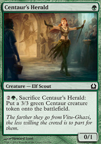Centaur's Herald - Return to Ravnica