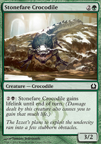 Stonefare Crocodile - Return to Ravnica
