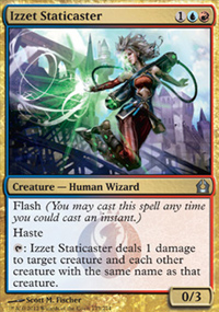 Izzet Staticaster - Return to Ravnica