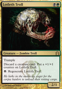 Lotleth Troll - Return to Ravnica