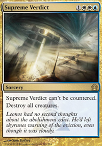 Supreme Verdict - Return to Ravnica
