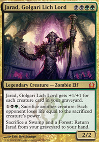 Jarad, Golgari Lich Lord - Return to Ravnica
