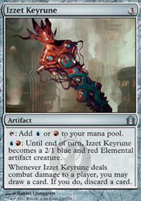 Izzet Keyrune - Return to Ravnica