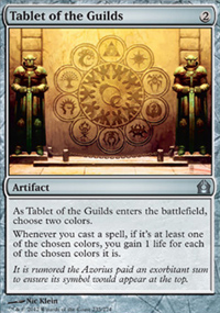 Tablet of the Guilds - Return to Ravnica
