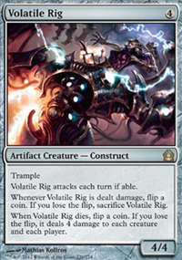 Volatile Rig - Return to Ravnica