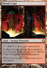 Blood Crypt - Return to Ravnica