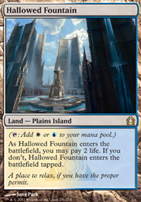 Hallowed Fountain - Return to Ravnica