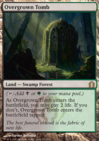 Overgrown Tomb - Return to Ravnica