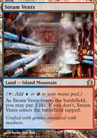 Steam Vents - Return to Ravnica