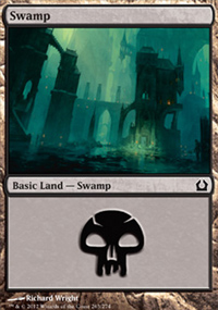 Swamp 4 - Return to Ravnica