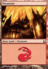 Mountain 5 - Return to Ravnica
