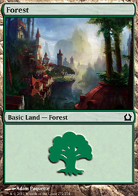 Forest 3 - Return to Ravnica