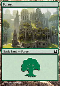 Forest 4 - Return to Ravnica