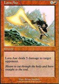 Lava Axe - Starter 2000