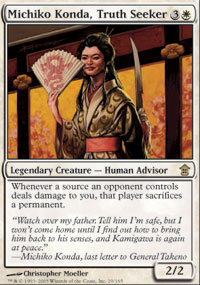 Michiko Konda, Truth Seeker - Saviors of Kamigawa