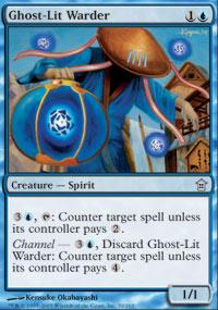 Ghost-Lit Warder - Saviors of Kamigawa