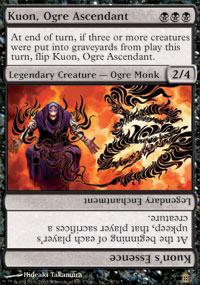 Kuon, Ogre Ascendant - Saviors of Kamigawa