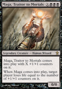 Maga, Traitor to Mortals - Saviors of Kamigawa